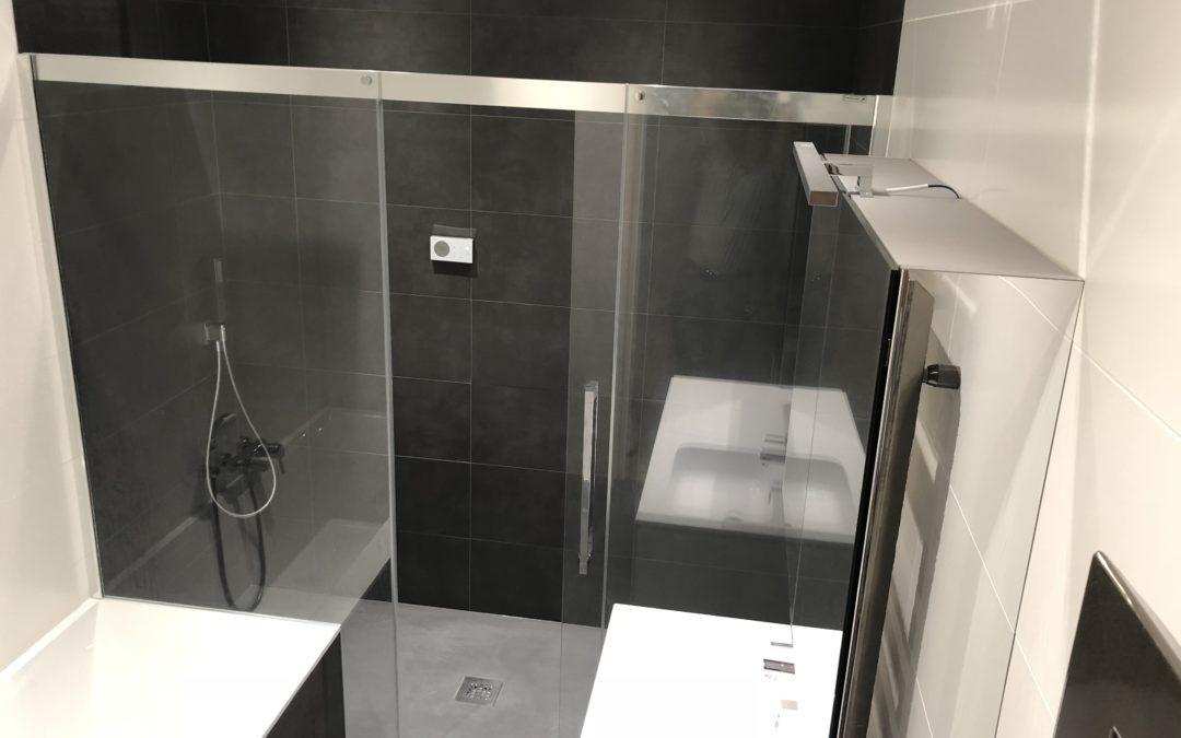 Salle de douche à Versailles
