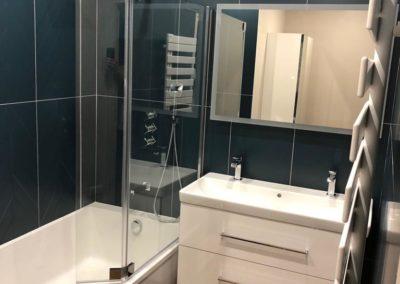 Salle de bains au Chesnay