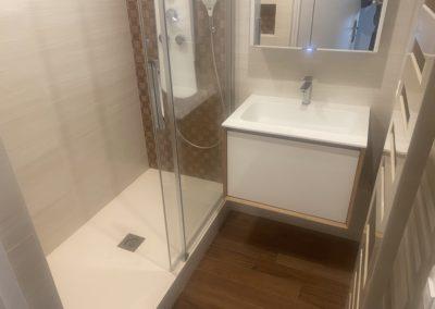 Salle de douche à Porchefontaine