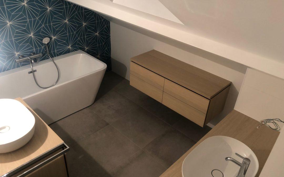 Salle de bain à Viroflay